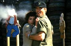 Navy SEALS 07: James Curran (Michael Biehn) and Claire Verrons (Joanne Whalley)